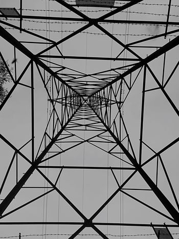 Blackandwhite Photography Lookingup From My Point Of View Pylon Taking Photos