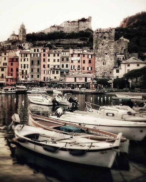 Portovenere Laspezia Liguria Italy Building ExteriorTransportation Architecture Nautical Vessel Built Structure Water First Eyeem Photo Outdoors Residential Building No People Sky Harbor Gondola - Traditional Boat Sailboat Cityscape Yacht Moored City Day Mode Of Transport