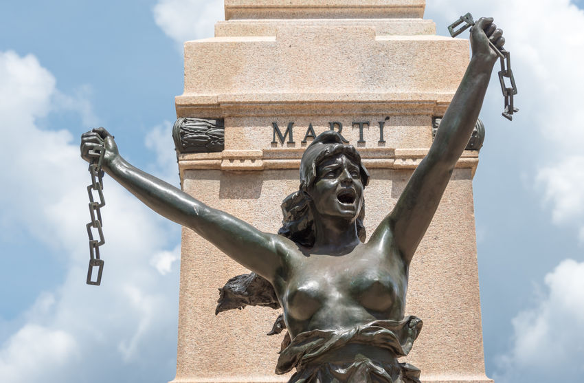 Architecture Breaking Built Structure Caribbean Chains City Communism Cuba Cuban Every Day Everyday Free Freedom Images Liberty Lifestyle Martı Matanzas Memorial Monument Revolution Scenes Sculpture Statue Way Of Life