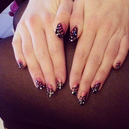 Nail art par Elo @elodie_ytb Nailart  Nails Nailslovers Like4likeback likebackteam like4like likes likes4likes likeall likealways l4l follow instafollow