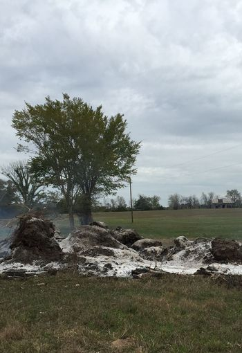 Bonfire Log Burning Texas Ranch Life Luckyme Smoking Hot