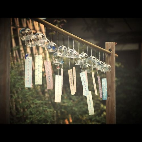 Japan Nara OpenEdit Tommy@collection EyeEm Best Shots 奈良 おふさ観音 風鈴 Windchimes Windchime