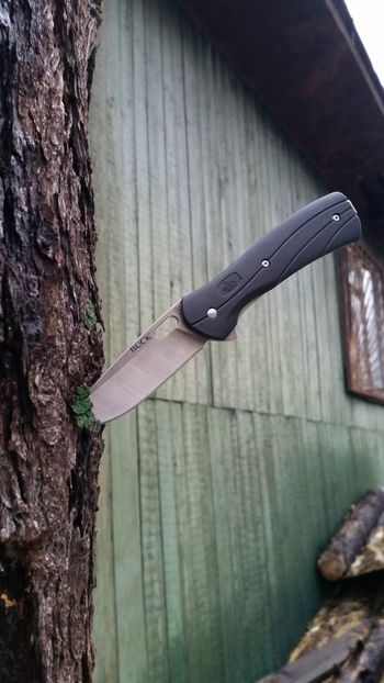 BUCK Vantage Knife First Eyeem Photo Wood