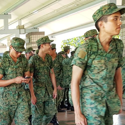 NSmen Going Into Camp Army Camp Streetphotography Sg_streetphotography Singapore