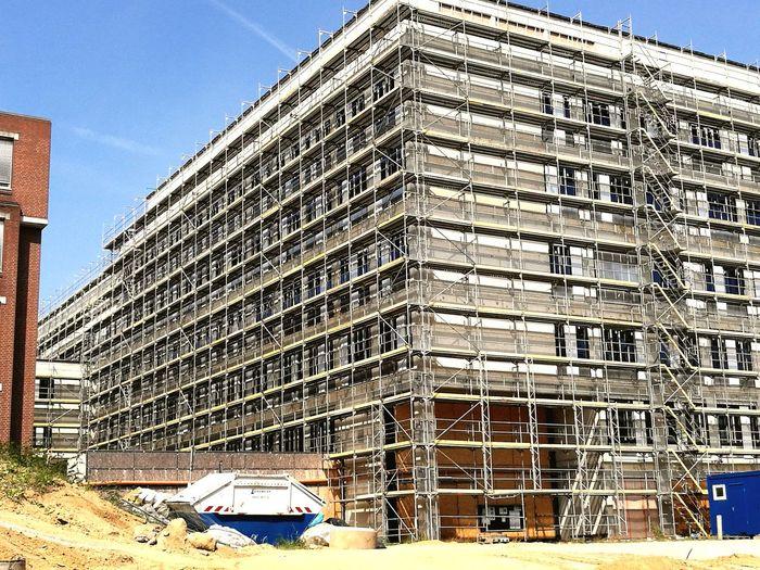 Erweiterung des Klinikums Construction Site Sky Architecture Building Exterior Built Structure