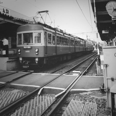 Train Train Station Kamakura 江ノ電