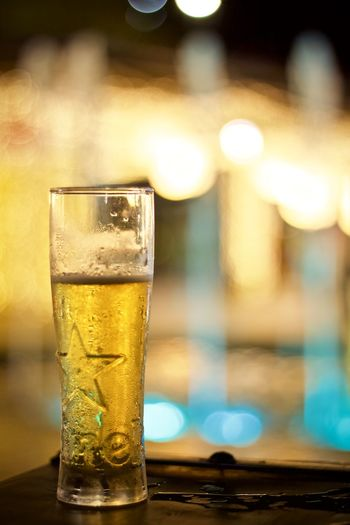 Refreshment Drink Food And Drink Glass Alcohol Household Equipment Drinking Glass Table Focus On Foreground Beer - Alcohol Beer No People Close-up Bar - Drink Establishment Glass - Material Indoors  Still Life Freshness Transparent Nightlife Bar Counter
