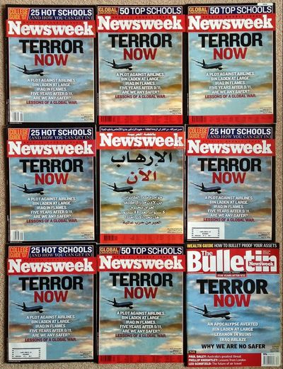 One of my career favourites; getting every single Newsweek edition front pages (internationally). A few shown here. News Magazine Newsweek Front Page