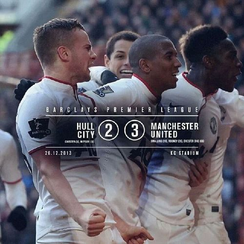 Greatest comeback this season so far. This is United! Manchesterunited Comback Hullcity Boxingday  premierleague victory