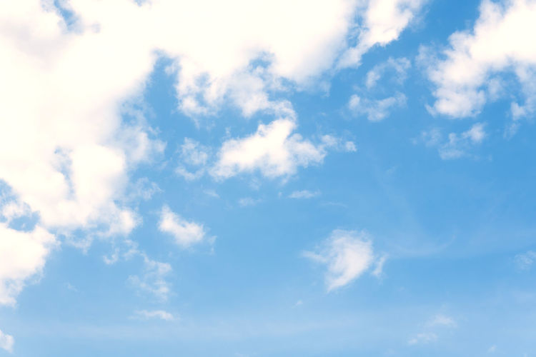 Sky Blue Backgrounds Nature Environment Outdoors