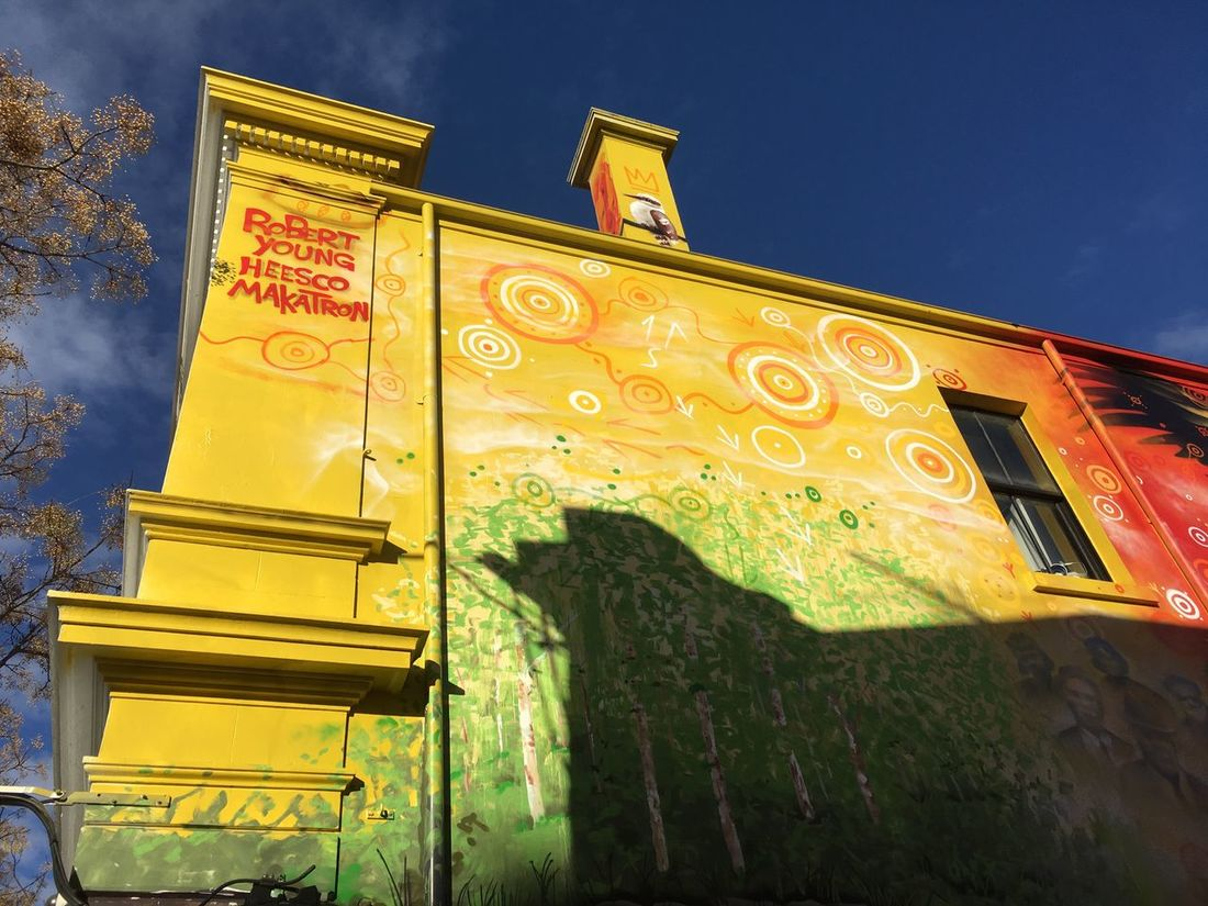 Street art festival in Melbourn 2017