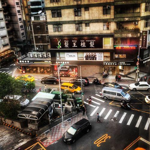 Back to Taipei Taiwan Taipei,Taiwan City Street City Street Car City Life Transportation Traffic