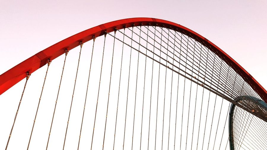 Korea 감성 City Golf Club Sport Sky Architecture Built Structure Cable-stayed Bridge Skyline Bridge - Man Made Structure Arch Bridge Chain Bridge Engineering Footbridge