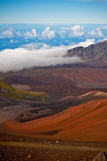 Landscape Nature Scenics Cloud - Sky Mountain Beauty In Nature Sky Autumn Outdoors Day No People Hawaii Maui