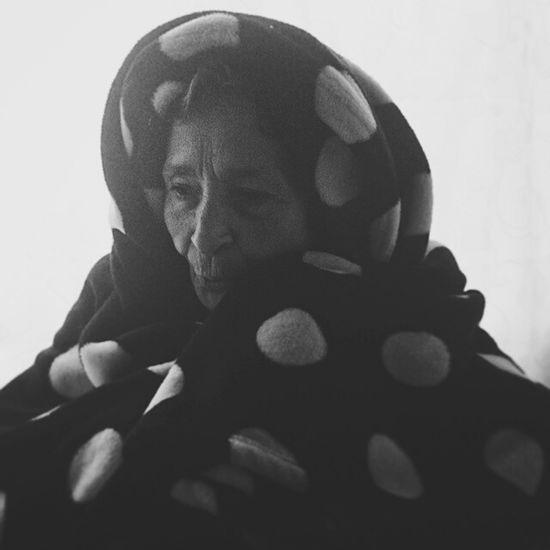 Portrait Of A Friend Grandmother Bestfriend Blackandwhite Portrait