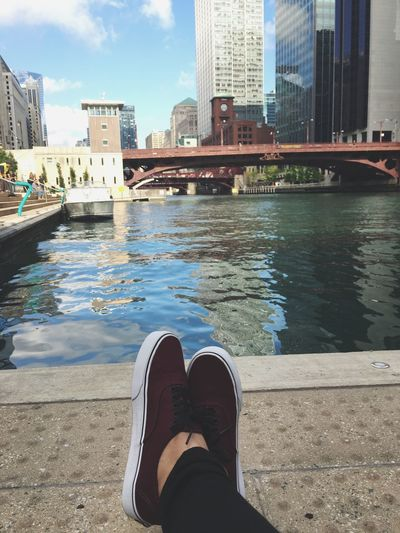 before work vibes Chicago River