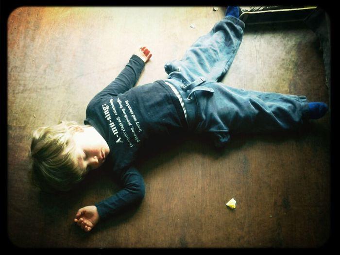 Sleeping On The Floor