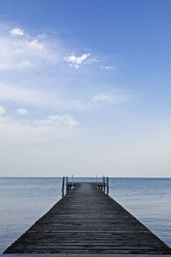 Pier Wood Lake No People Outdoors Sky Tranquillity Water