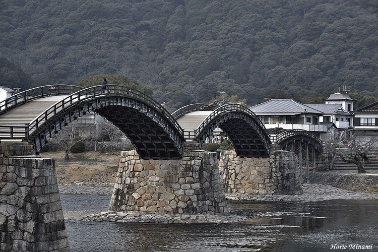 Bridge 錦帯橋 Kintai Bridge Japan EyeEm Selects EyeEm Gallery EyeEmNewHere EyeEm Best Shots Water Outdoors No People Nature Architecture