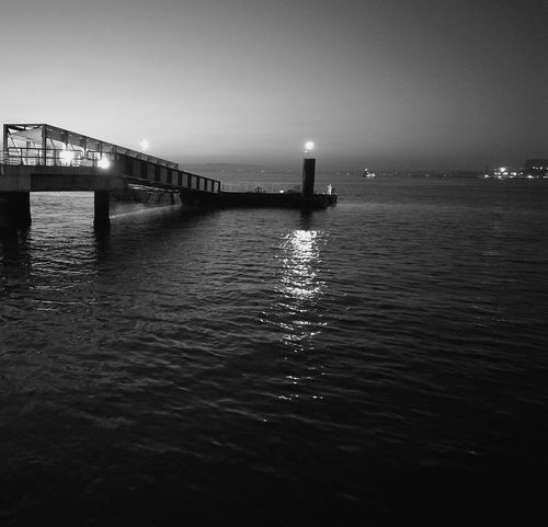 Sea Bridge - Man Made Structure Cais Peer No People Early Morning Frost Light And Shadow Morning Run Lisbon - Portugal Cais Do Sodré, Lisboa