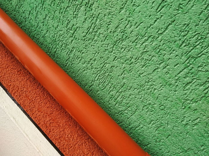 Green Color Textured  Red Backgrounds Multi Colored Architecture Wall - Building Feature Built Structure Rough Textured  Abstract Façade Colors color palette