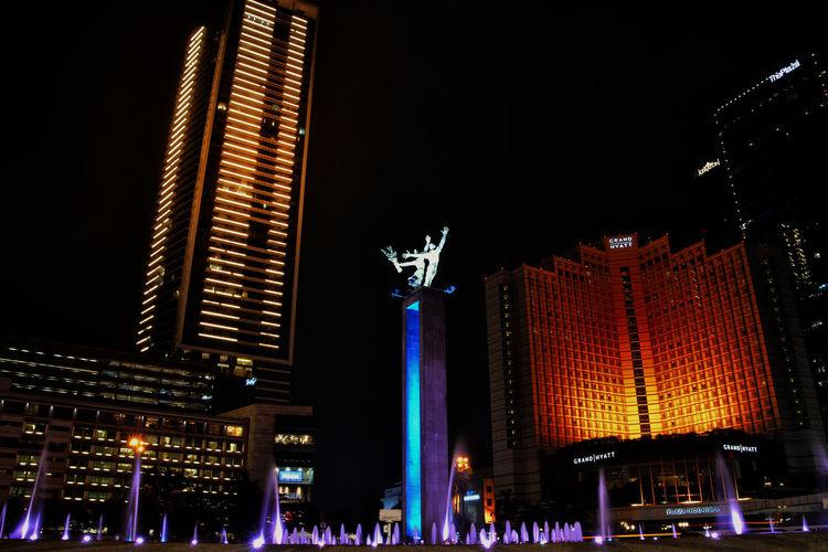 Bunderan HI - Jakarta Capital Region of Indonesia Hanging Out Hello World Exploring