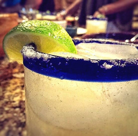 Liquid Lunch Margaritas Arizona Quench Limes Tequilla Ice Salt Hanging Out Goesdownsmooth Relaxing Enjoying Life Desert Drink