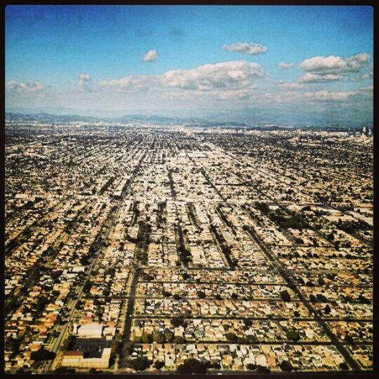 LAX Ontopofplane View Greater losangeles