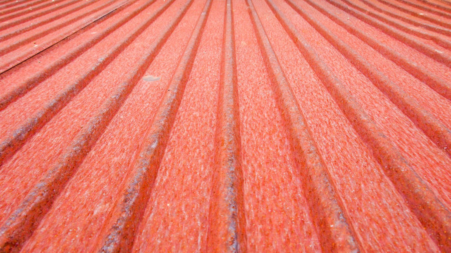 Old red rooftop Classic Flooring Nature Orange Roof Textured  Wall Wave Abstract Backdrop Backgrounds Brown Cover Design Horizon Over Water In A Row No People Old Outdoors Parallel Pattern Red Striped Structure Tile