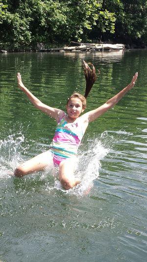 Water River Trip Enjoying The Sun Swimming Tubing