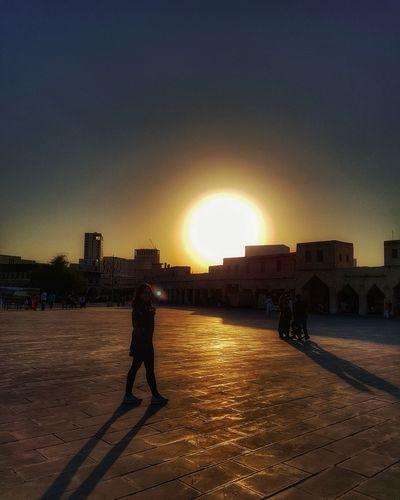 Sunset Sunlight Sunset Travel Destinations Architecture Sky Qatarlife EyeEmNewHere