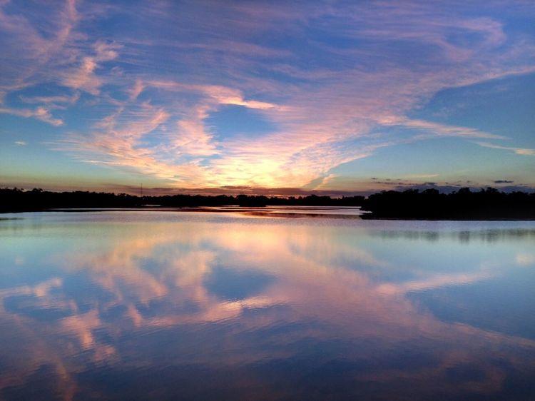 Fine Art Photography Sky Water_collection Clouds And Water Landscape_Collection Clouds And Sky Naturephotography Sunset_collection Cloud_collection  Water Reflection Reflection_collection Florida Nature Sunset #sun #clouds #skylovers #sky #nature #beautifulinnature #naturalbeauty #photography #landscape
