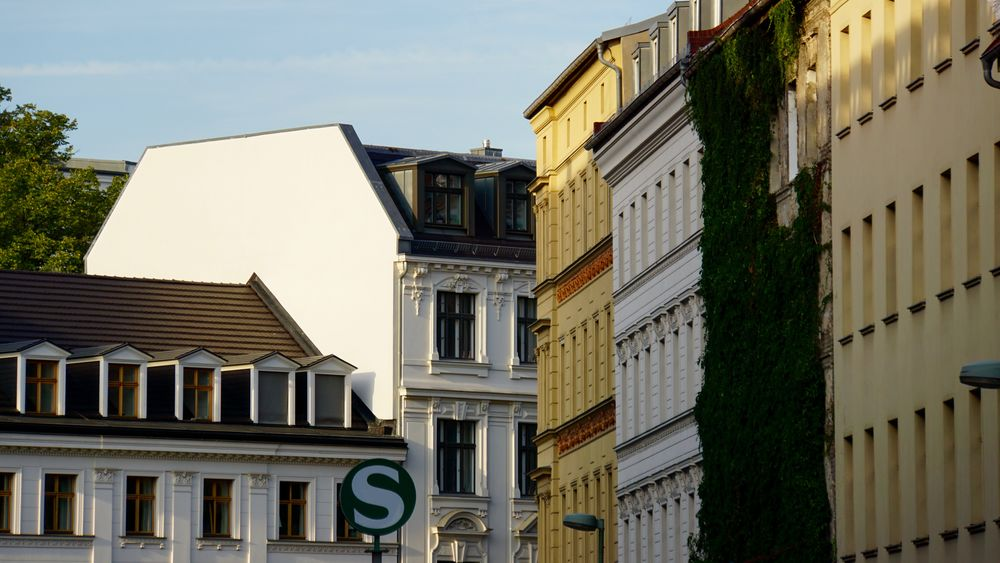 Air Conditioner Apartment Architecture Balcony Building Exterior Built Structure Day House Housing Development Low Angle View Mitte No People Outdoors Prenzlauerberg Residential Building Sky Window