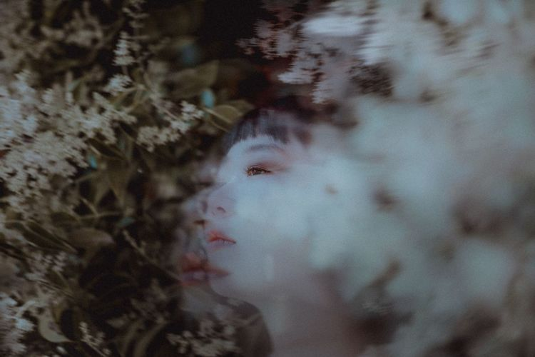 Fujifilm Portrait Girl Close-up Plant Real People Nature