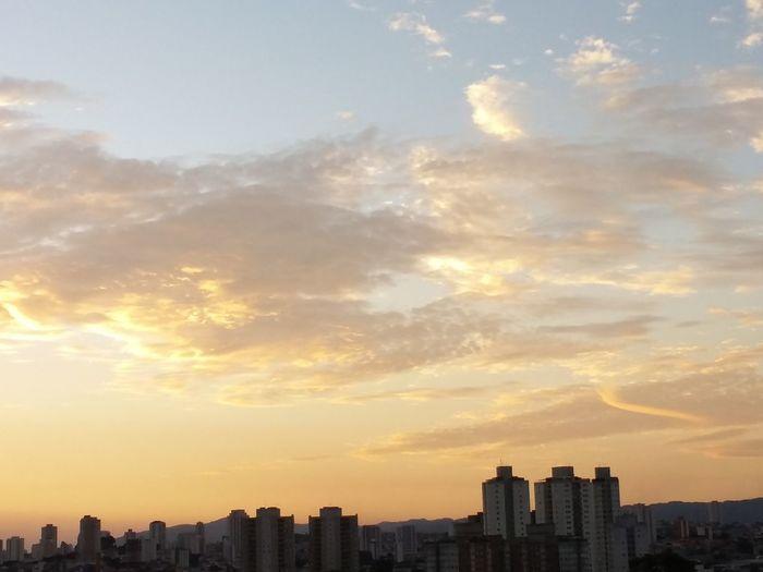 Brisa Céu Deslumbrante FinalDeTarde Magnific Nuvens Obradearte Parecepintura Sol Tracos First Eyeem Photo