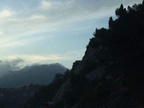 Montagne Mountain Nature Beauty In Nature Sky Ciel CIELFIE Skyfie Clouds Nuages Ciel Et Nuages Sky And Clouds