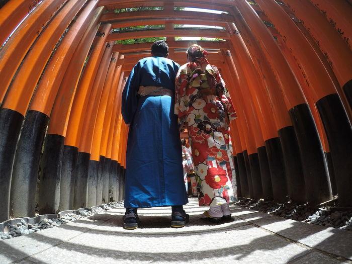 Fushimi Inari Shrine Kyoto,japan Torii Gate
