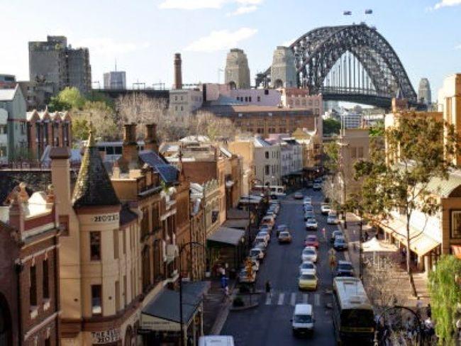 Sydney Therocks Streetscene EyeEmAustralia SydneyHarbourBridge