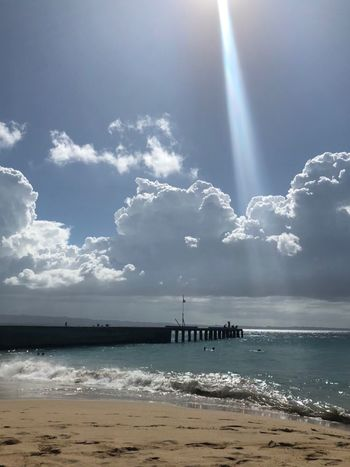 Crash boat Horizon Over Water Puerto Rico Water Sea Sky Beauty In Nature Nature Beach Scenics Outdoors Cloud - Sky Tranquility Sand Sunlight Tranquil Scene Horizon Over Water Day