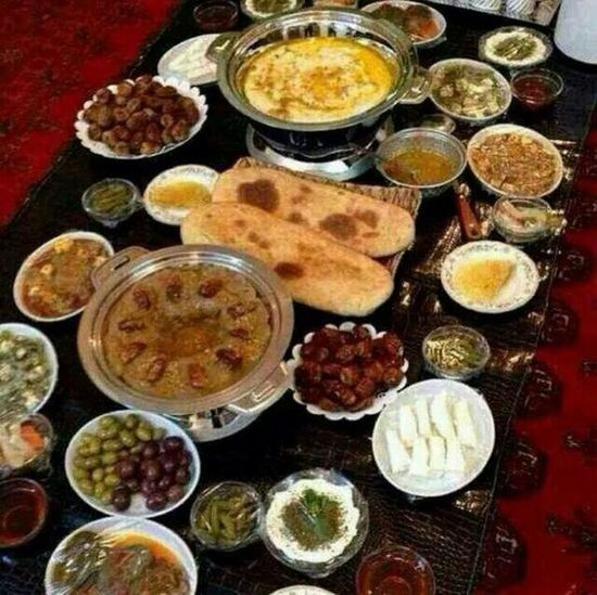 I am proud to be Algerian and imitate my country Mahajab Table Formation Food Stories