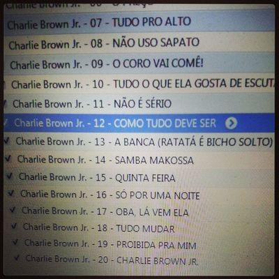 Um pouco de Charliebrown pra abrasilerar a América! Brazil Song Listeningto music
