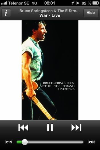 Bruce Springsteen Humaninterest What Are You Listening To? Silence Is A War Crime