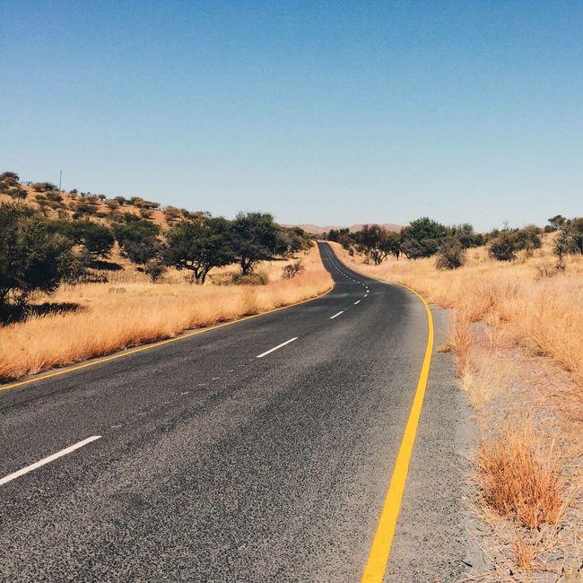 On The Road Landscape Landscape_photography Streetphotography Eyem Best Shots Namibia VSCO Africa