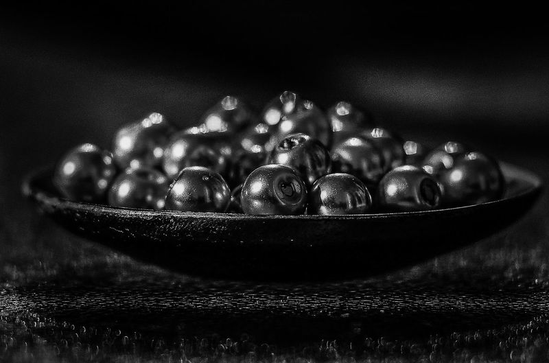Close-up of bowl on table