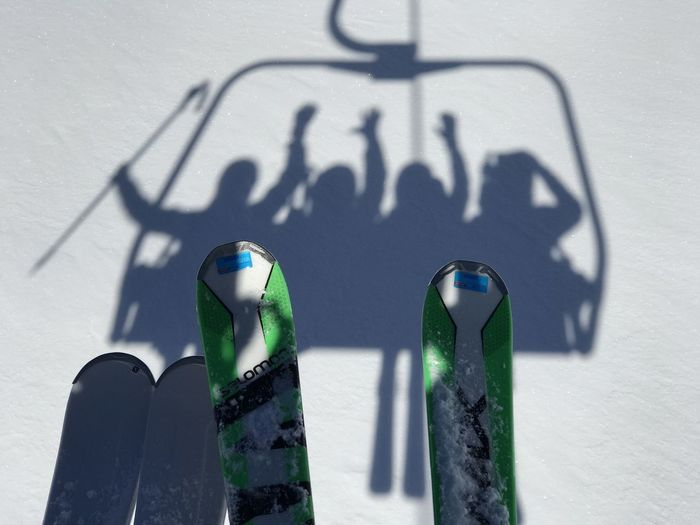 Holiday Ski Lift Vacations Winter Bottle Close-up Day Focus On Shadow Friendship Green Color High Angle View Nature No People Outdoors Refreshment Shadow Ski Snow Still Life Sunlight The Great Outdoors - 2018 EyeEm Awards The Traveler - 2018 EyeEm Awards The Portraitist - 2018 EyeEm Awards The Creative - 2018 EyeEm Awards The Street Photographer - 2018 EyeEm Awards Capture Tomorrow 2018 In One Photograph Moments Of Happiness