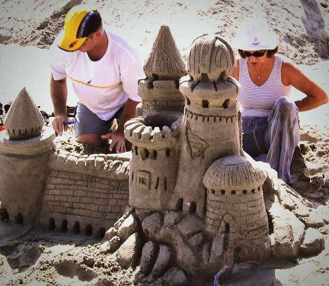 Open Edit Sand Castles in San Diego. Everyday Joy Its A Beautiful World Make It Yourself ( for you, Pearce )