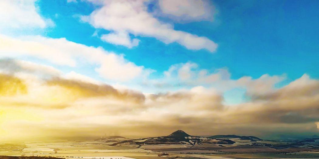 Mountain Sea Volcanic Landscape Water Sky Landscape Architecture Cloud - Sky Dramatic Sky Mountain Range Mountain Peak Snowcapped Mountain Dramatic Landscape Natural Landmark Romantic Sky Idyllic Geology Mountain Ridge Mountain Road