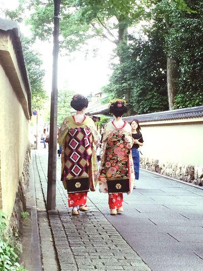 Geisha walk- Gion