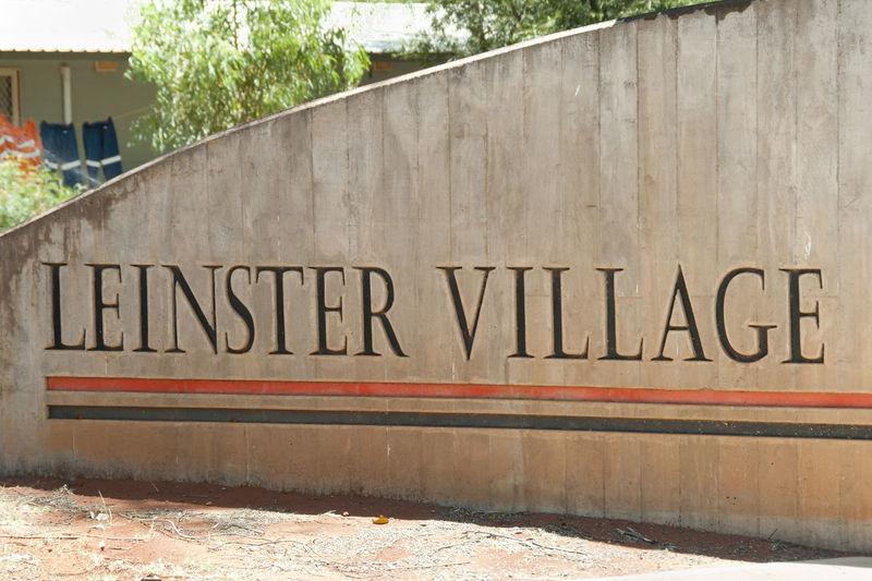 Leinster Village Sign - Australia Australia Built Structure City Leinster Village