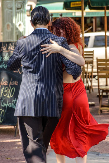 Dancing Tango Buenos Aires City Life Classic Culture EyeEm Gallery Leisure Activity Lifestyles Music Passion San Telmo Tango Tango Dancers The Portraitist - 2016 EyeEm Awards Two Is Better Than One